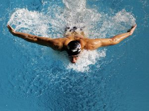 swim daily