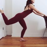 Toning with thigh extensions