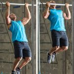Reverse grip pull-ups and chin-ups