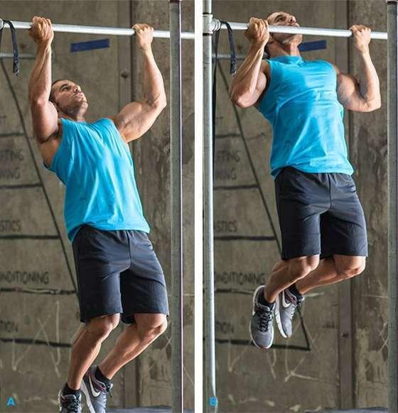 reverse grip pull-ups
