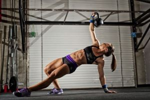 Turkish Get-Up with a kettlebell