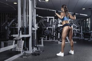 Back of the thigh exercise