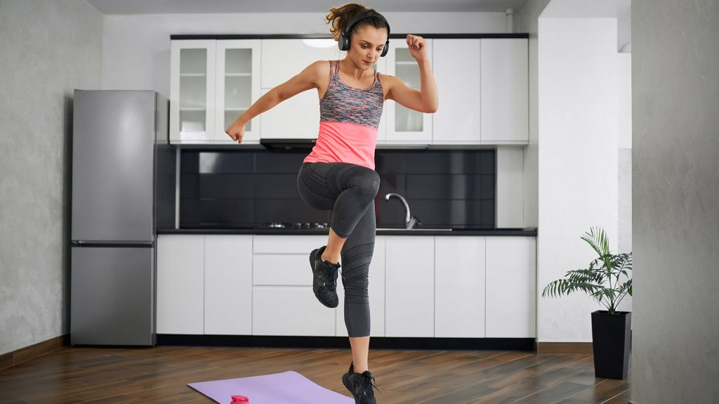 best cardio for weight loss at home